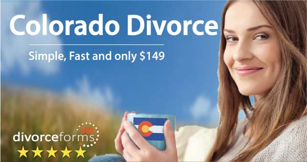 Colorado divorce papers