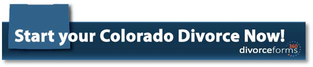 Start your Colorado divorce