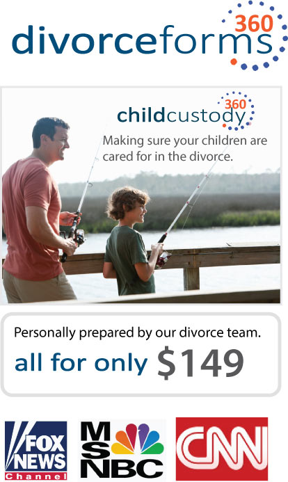 Child custody and visitation in a divorce