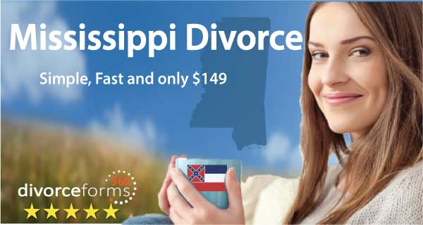 Mississippi divorce papers