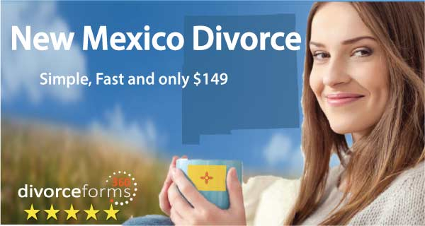 New Mexico divorce papers