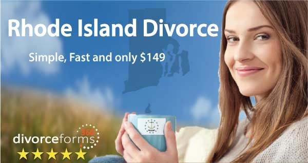 Rhode Island divorce papers online