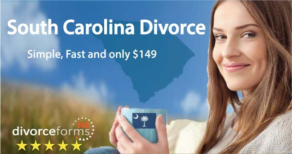 South Carolina divorce papers