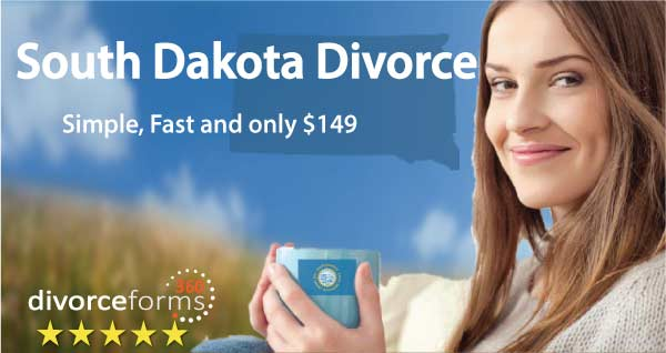 South Dakota Divorce papers