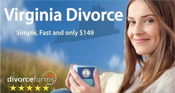 Virginia online divorce papers
