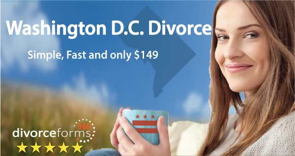 Washington D.C. divorce papers