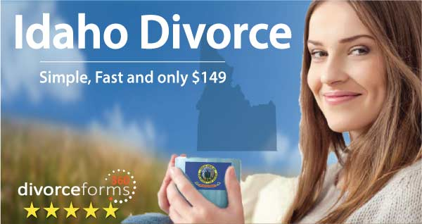 Idaho divorce papers