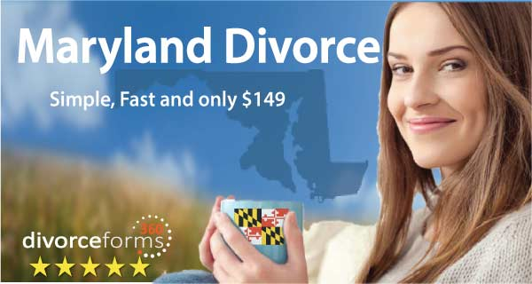 Maryland divorce papers