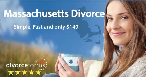 Massachusetts divorce papers