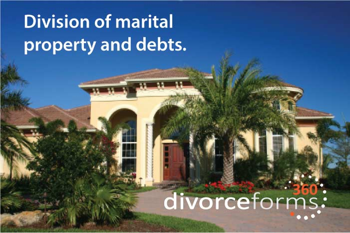 Property divorce in a divorce