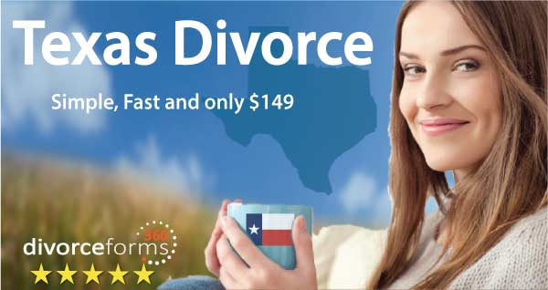 TX divorce papers